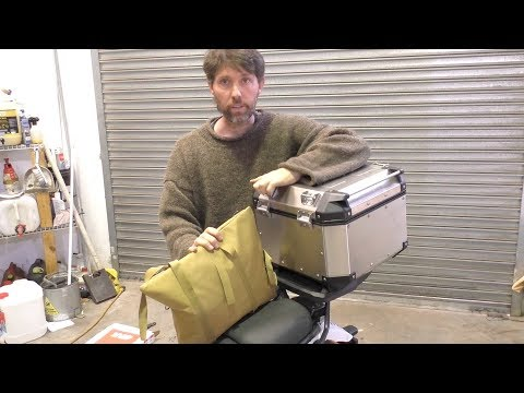 Installing a Givi Trekker Outback on a Royal Enfield Himalayan