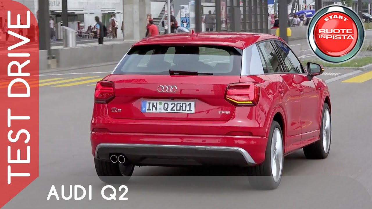 audi q2 test drive marco fasoli prova youtube. Black Bedroom Furniture Sets. Home Design Ideas