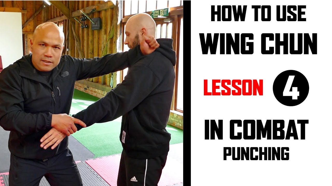 How to use Wing Chun in Combat lesson 4 Punching | Master Wong