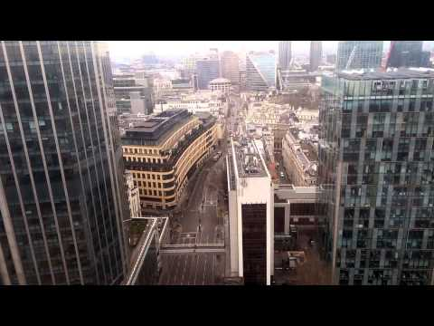 Heron Tower, London - 40 floors in 34 seconds