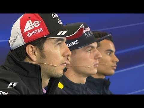2017 Mexico Grand Prix | Pre-Race Press Conference