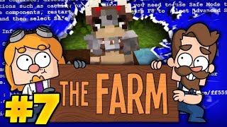 Minecraft The Farm #7 - Blue Screened By A Minotaur