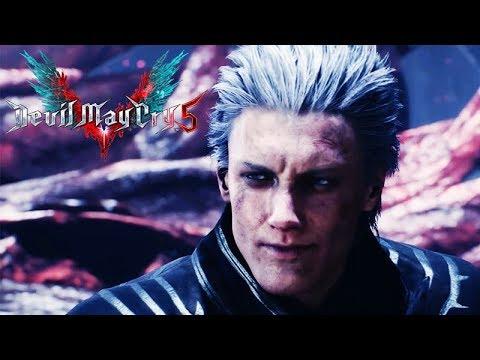 DEVIL MAY CRY 5 - All Vergil Scenes (DMC 5) Xbox One X 1080p 60FPS thumbnail