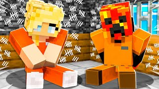 I Got TRAPPED in Minecraft PRISON with My Wife! *most secure*