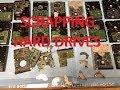 Scrapping 28 Hard Drives For Precious Metals