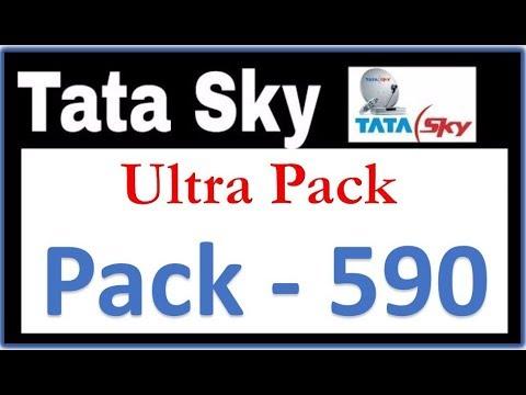 Tatasky Ultra Pack 590 Tatasky Details Youtube