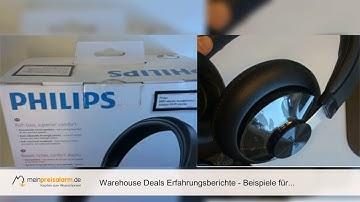 Warehouse Deals Erfahrungsberichte - Beispiele für Zustände