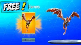 How To Get FREE GLIDER (FREE ITEMS) Fortnite NEW Frostwing Battle Bling STYLE! Arme / Charmes d'armes
