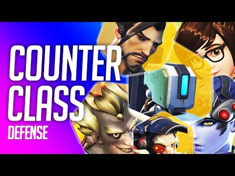 Overwatch Counter Class - Defense Heroes (How To Counter Pick)