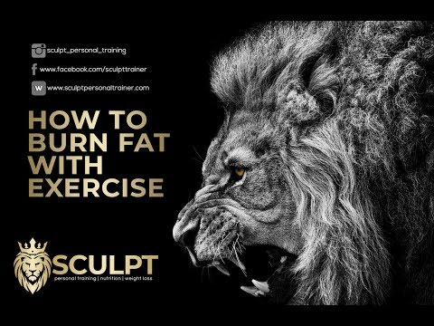 How to burn FAT with exercise.