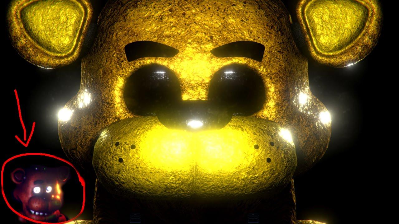 Golden Freddy And Fnaf Animatronics Final Hours 2 Youtube