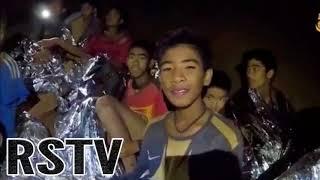 Rescatados Todos los niños y su Entrenador de la Cueva en Tailandia