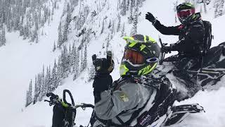 Snowmobile Sicamous BC 2018