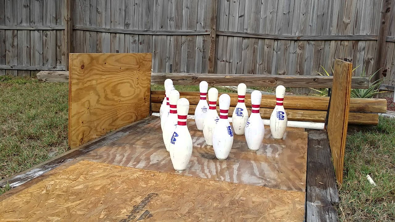 backyard bowling 20151115 youtube