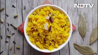 How To Make Basanti Pulao | Easy Basanti Pulao Recipe Video