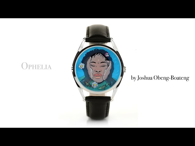 Joshua Obeng-Boateng talks through his inspiration for the Ophelia watch