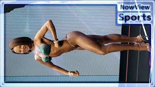 여자 비키니, +167cm, 최규나 / 제1회 양주시장배 보디빌딩 & 피트니스 대회 / 4K / NowView Sports