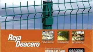 Cargo Lift steel fence