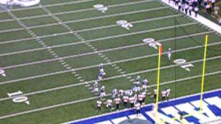 Indianapolis Colts vs. Baltimore Ravens (October 12, 2008)