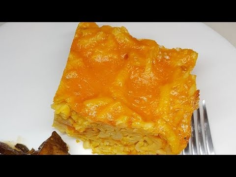 Macaroni Pie, step by step Video Recipe II Real Nice Guyana (HD)