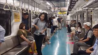 【FHD】【韓国の駆動音】ソウル地下鉄4号線 ソウル交通公社4000系VVVF電車 アルストム製VVVF-GTOの駆動音