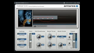 How To Use Antares Avox Throat ( Great Voice Actors )