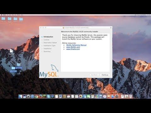 How To Install MySQL on Mac OS X