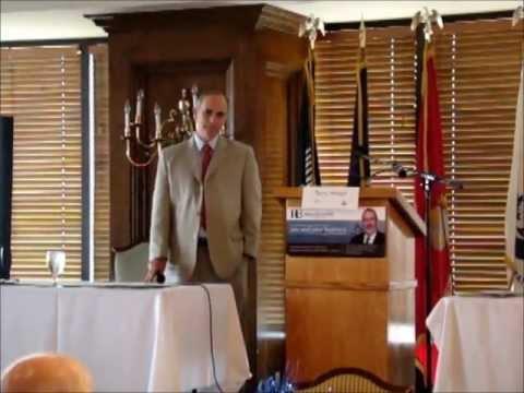 Terry Phillips Speaks At The Kern County Great Debate