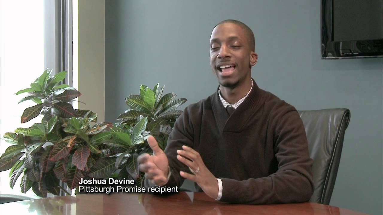 The Pittsburgh Promise: Joshua | UPMC's Partner for Healthy Living