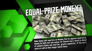 Should Men & Women Be Paid Equally in Slams? - Tennis Now Point/Counterpoint Show