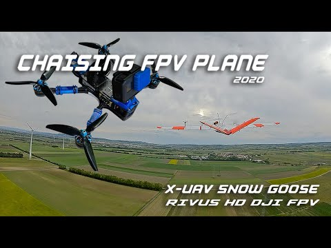 Фото Chasing FPV Plane