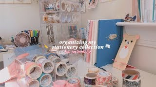organizing my stationery collection #1
