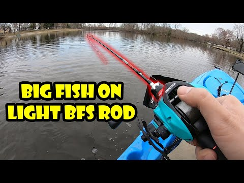 Fishing The KastKing Max Steel Light Casting BFS Rod