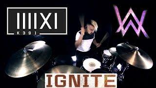 K-391 & Alan Walker - Ignite (feat. Julie Bergan & Seungri) (Drum Remix)