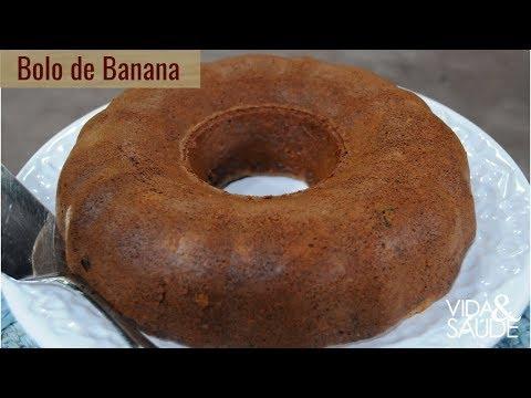Receita: Bolo de banana com Caroline Ferrari (24/04/19)