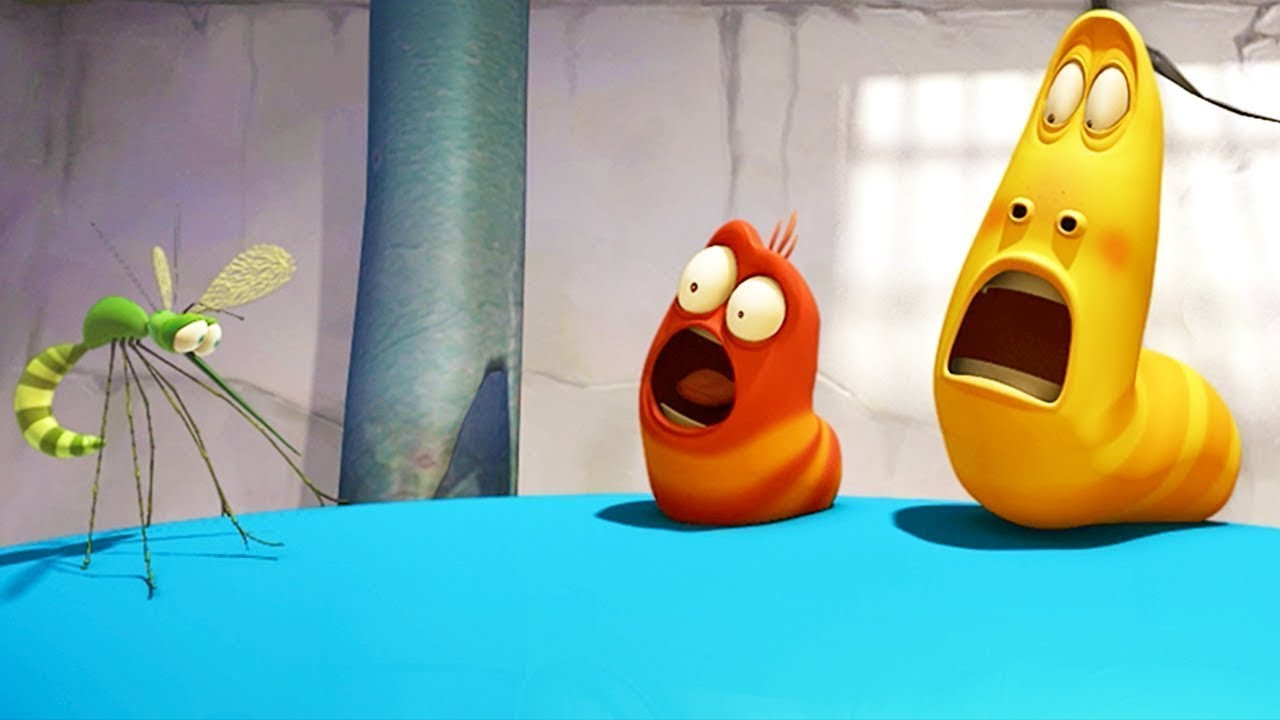 LARVA - BOUNCING BALLOON | Cartoon Movie | Cartoons For Children | Larva Cartoon | LARVA Official