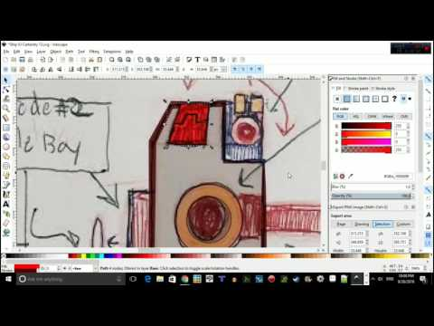 Open Space Dev Vlog 1 Inkscape Tut