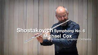 Видео урок Майкла Кокса, первой флейты симфонического оркестра BBC