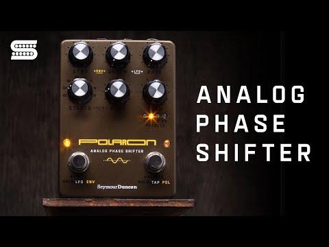 Introducing the Polaron Analog Phase Shifter Pedal   Seymour Duncan