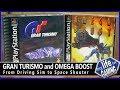 Omega Boost PS1/ PSX Widescreen @ 60fps PCSXR-PGXP HD (1999