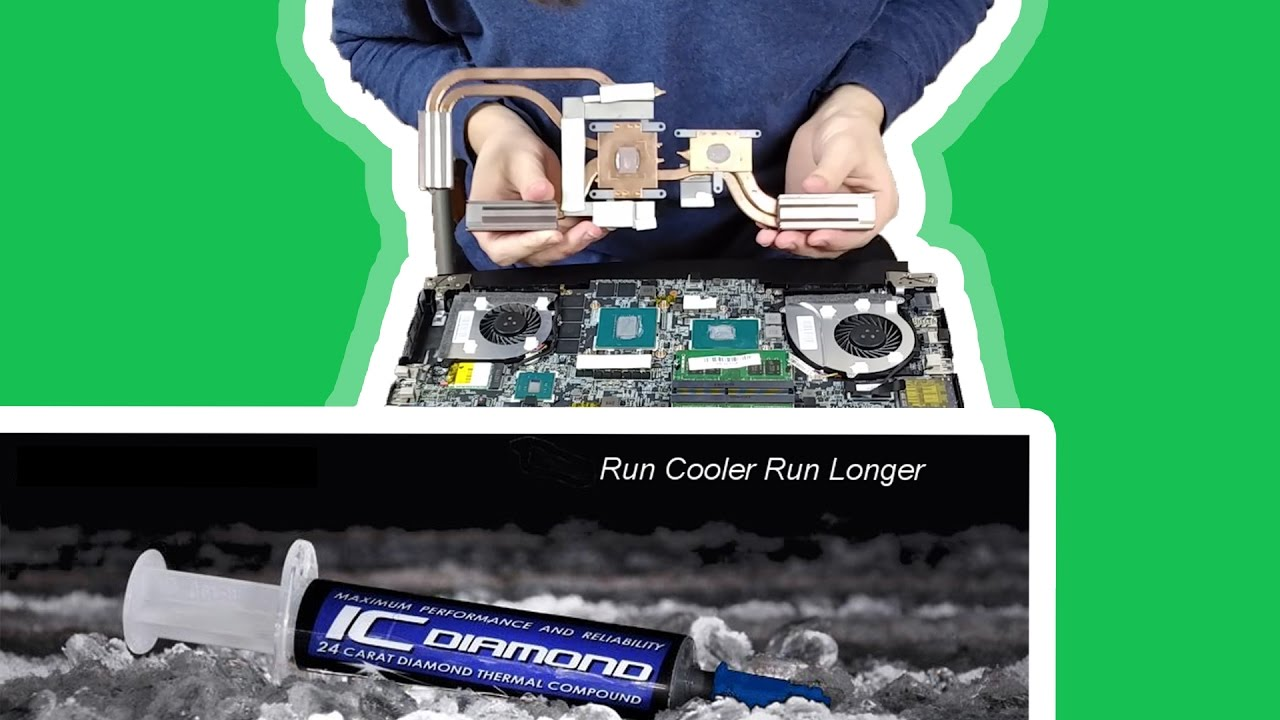 How To Apply New Thermal Paste To A Laptop