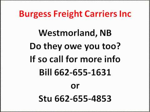 Burgess Freight Carriers Inc
