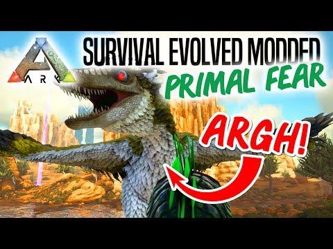 HVAD ER DET!?! - ARK Survival Evolved Ep 4 (Primal Fear Mod Scorched Earth)