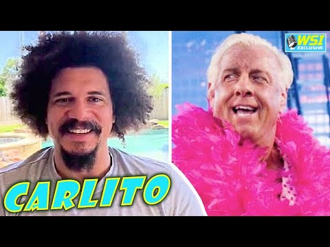 Carlito on Frustration Being Bumped From WrestleMania TWICE + Ric Flair Memories