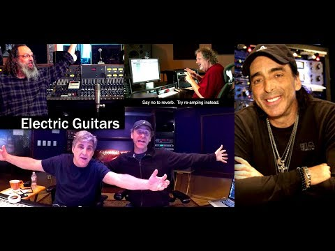 How to Record and Mix Rock Guitars