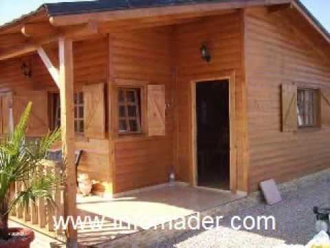 Infomader casas de madera modelo cristina 65 m2 youtube for Modelos de casas procrear clasica