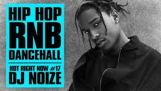 🔥 Hot Right Now #17 | Urban Club Mix February 2018 | New Hip Hop R&B Rap Dancehall Songs | DJ Noize 2017 Video