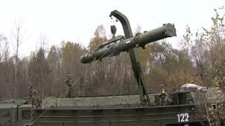 Тренировка по нанесению условных ракетных ударов  Искандер М