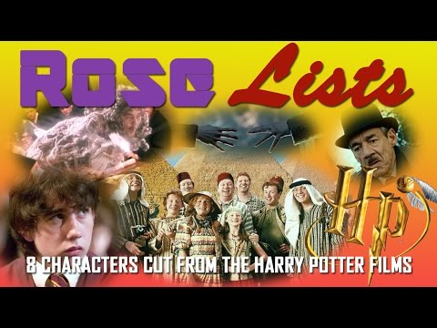 8 Characters Cut From The Harry Potter Films | Rose Lists
