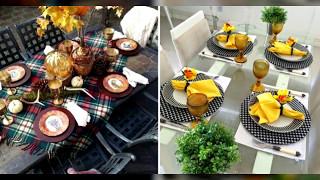 12 ГЕНИАЛЬНЫХ идей! Простой и увлекательной сервировки стола!!